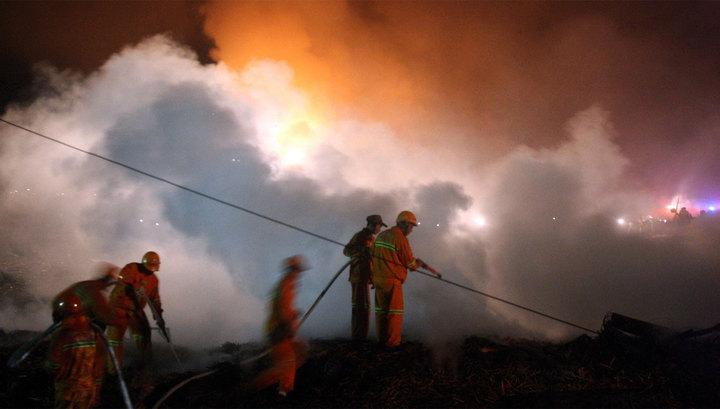 В Китае из-за взрыва на заводе фейерверков погибли семь человек