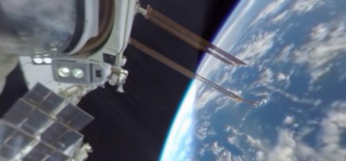 Видео дня: первая в истории панорамная видеозапись из открытого космоса