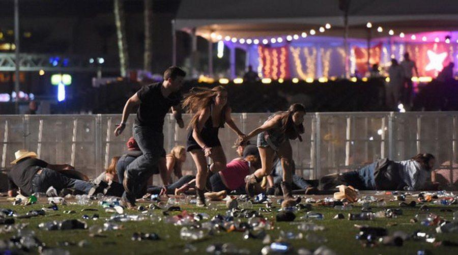 В Лас-Вегасе во время фестиваля кантри произошла стрельба, двадцать человек погибли более 100 ранены