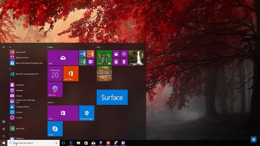 Компания Microsoft выпустила обновление для Windows 10