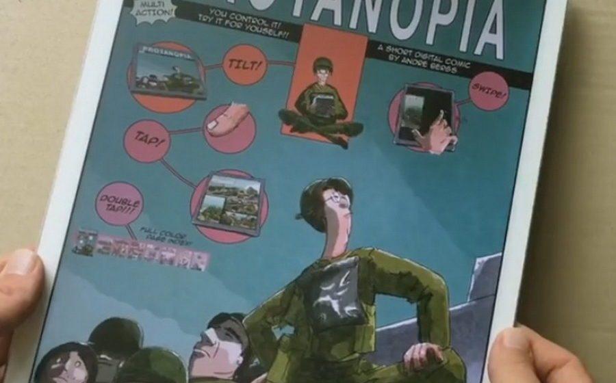 Мультипликатор создал комиксы будущего, в которых картинки не статичны