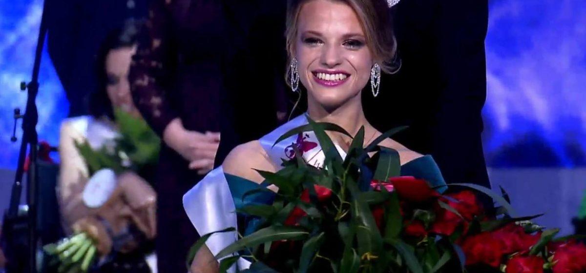 Белоруска Александра Чичикова победила на конкурсе «Мисс мира на инвалидной коляске»