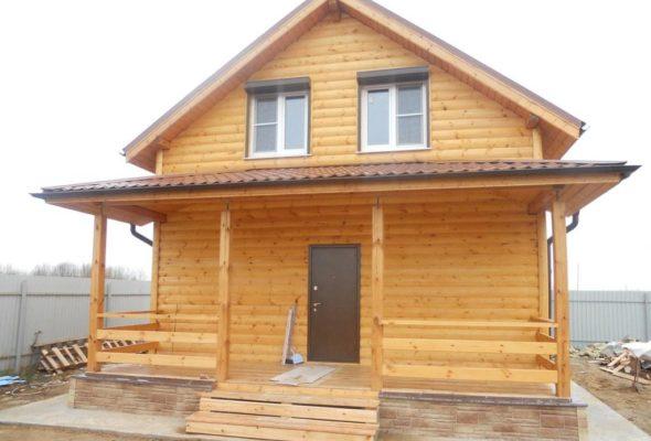 Белорусские дома из клееного бруса идут на экспорт