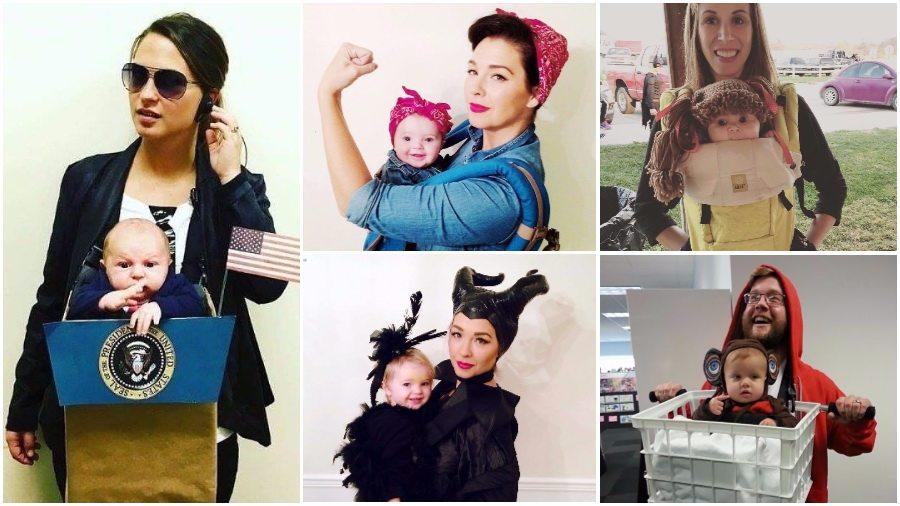 ТОП костюмов на Хеллоуин для родителей и их малышей
