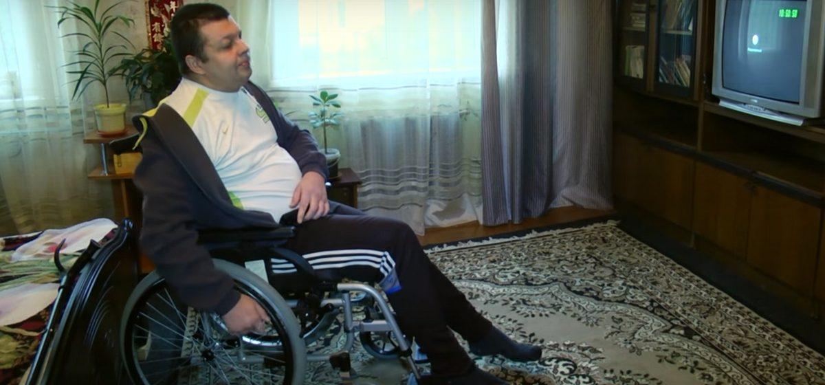Мозырская милиция признала казус со штрафом, выписанным неходячему инвалиду, и рассказала, как такое могло случиться