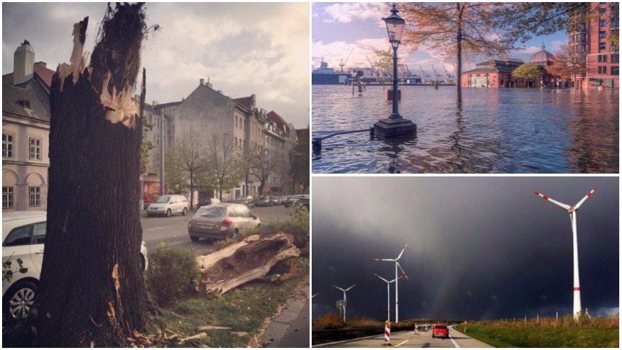 Над Европой бушует ураган «Герварт», погибли шесть человек. Что ждет Барановичи?