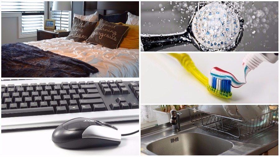 Десять источников инфекции в вашей квартире
