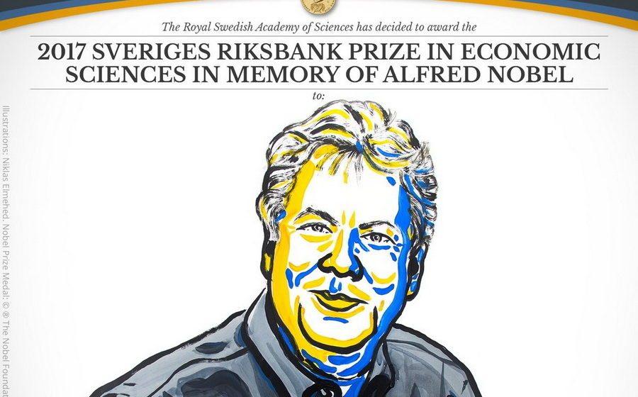 Объявлен лауреат Нобелевской премии по экономике за 2017 год