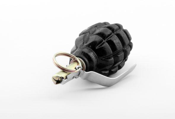 В Барановичах мужчина нашел гранату возле урны
