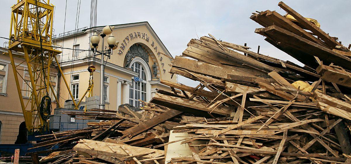 Как в Барановичах проходит реконструкция левого крыла вокзала «Барановичи-Полесские»