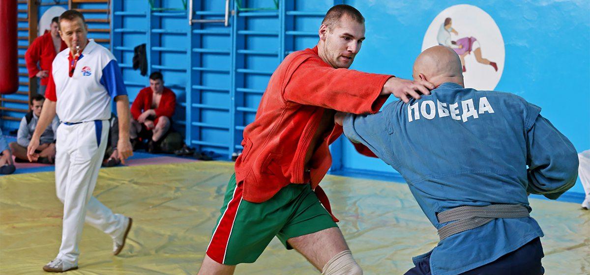В Барановичах прошли соревнования по самозащите среди силовых структур Брестской области