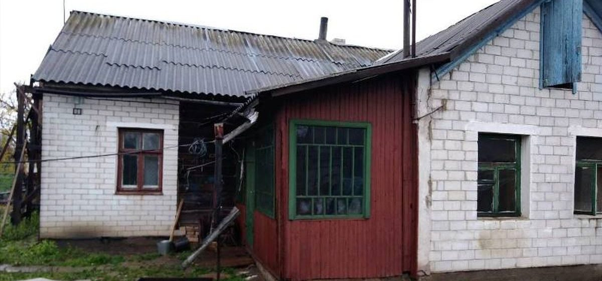 При пожаре в Барановичах погиб мужчина