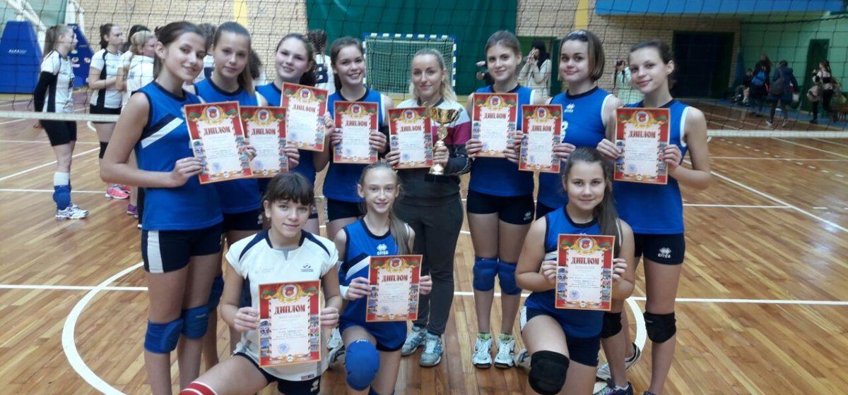 Команда Барановичской СДЮШОР №1 по волейболу одержала победу в областной Спартакиаде