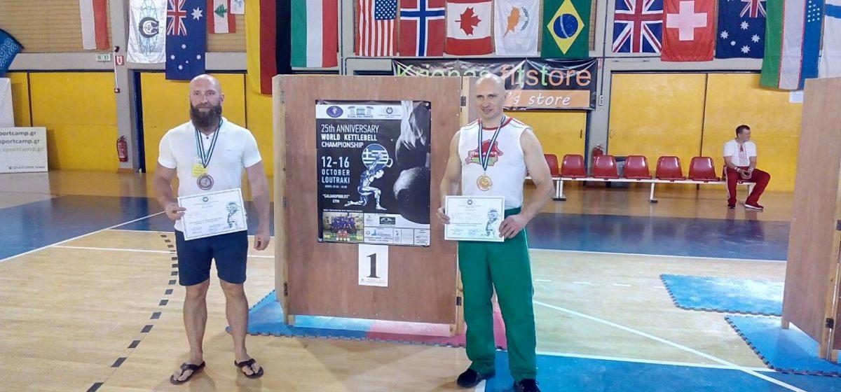 Барановичские гиревики завоевали золото и бронзу чемпионата мира