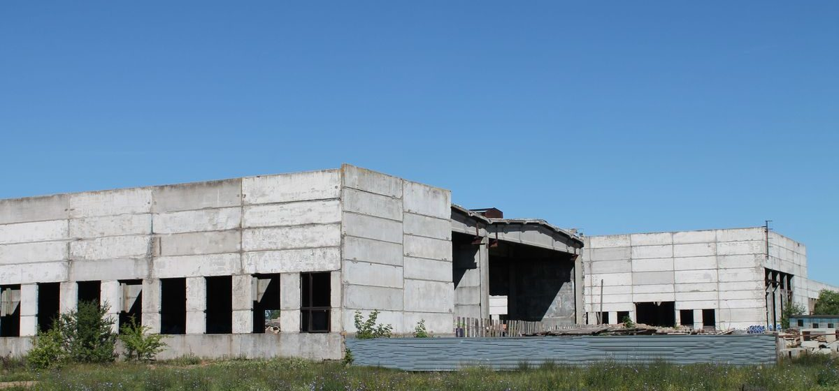 Недостроенные здания Барановичского стройтреста выставят на продажу за одну базовую величину