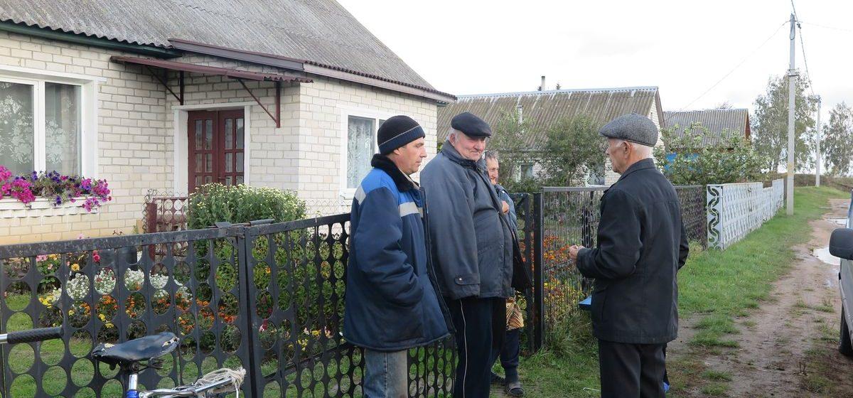 Жители деревни Гирово под Барановичами: «Сидим целый день без горячей воды и в холодном доме»