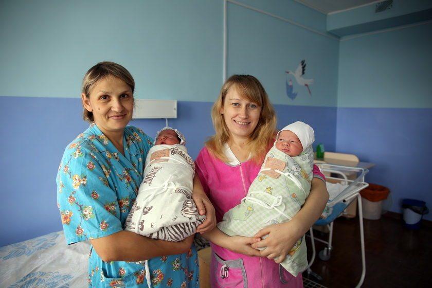 В Барановичах в День матери шесть женщин стали мамами