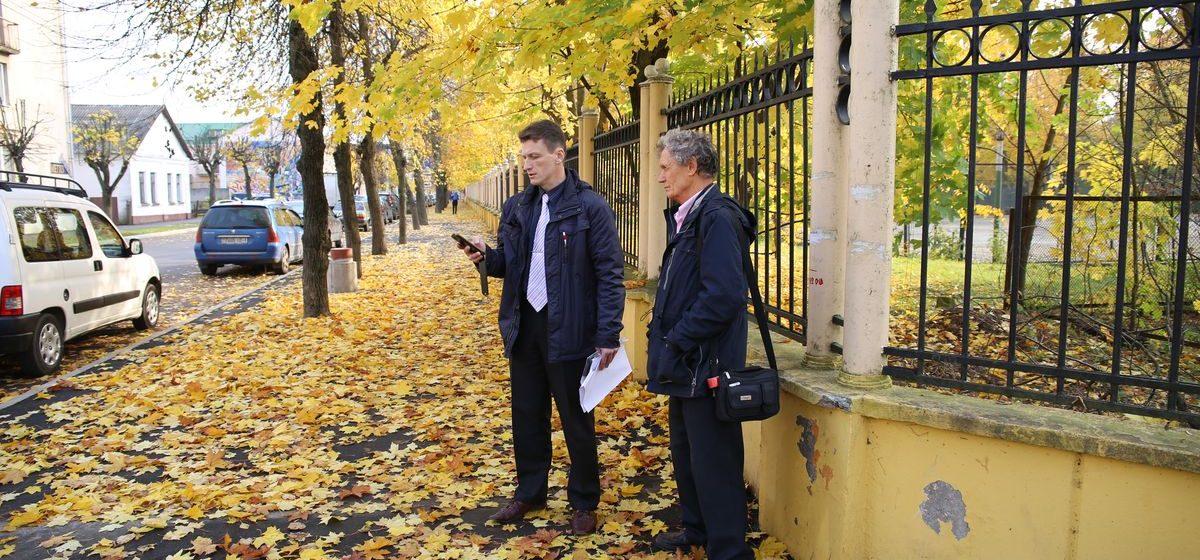 Дорожники предложили активисту разобраться с претензиями по улице Гагарина на месте, но на встречу не пришли