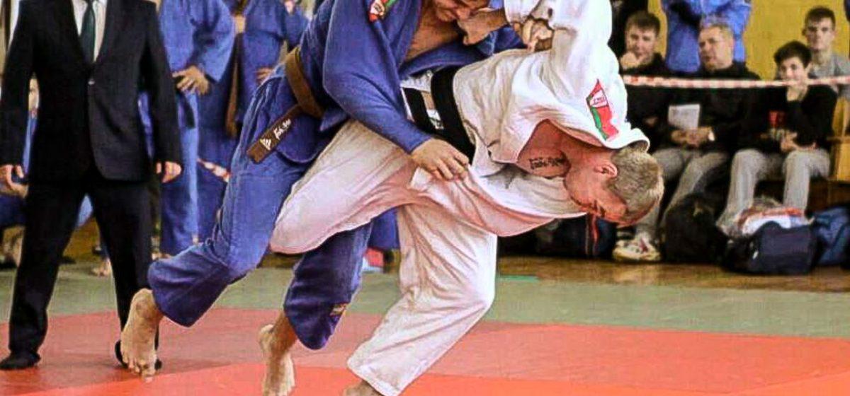 Барановичские дзюдоисты завоевали медали открытого Кубка Беларуси
