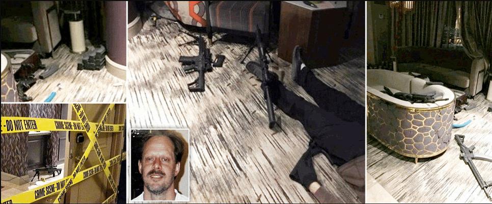 Обнародовано содержимое записки стрелка, убившего 58 человек в Лас-Вегасе