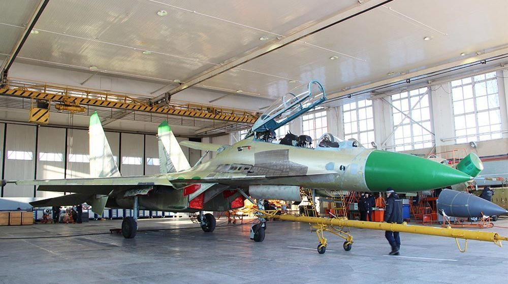 Мьянма купит хранящиеся в Барановичах шесть российских истребителей Су-30К