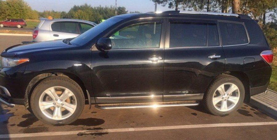 В Лиде автоугонщик перехватил сигнал от чип-ключа и угнал внедорожник за $27 тысяч