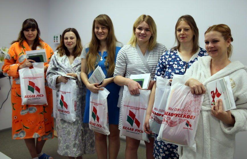 В Барановичском роддоме прошла торжественная регистрация новорожденных