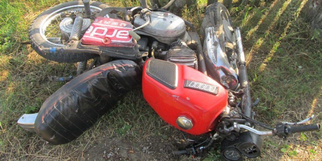 Скончался 17-летний мотоциклист, который под Солигорском врезался в лошадь