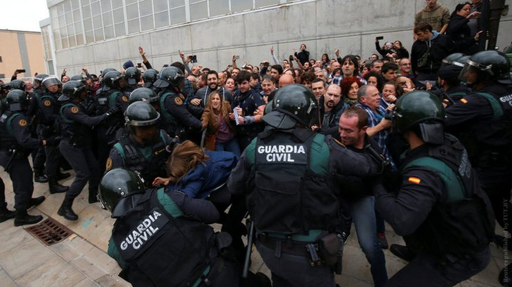 Референдум в Каталонии: 337 пострадавших