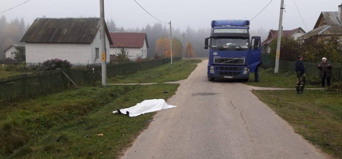 Под Полоцком под колесами фуры погибла женщина