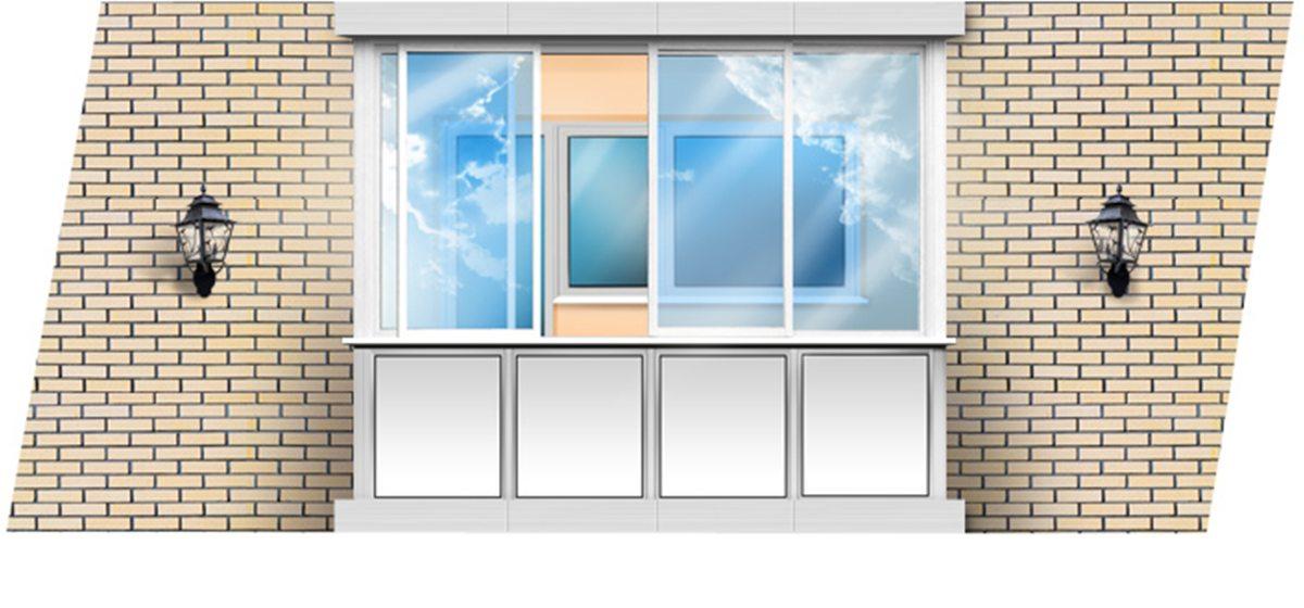 Быть или не быть остекленному балкону в вашем доме?*