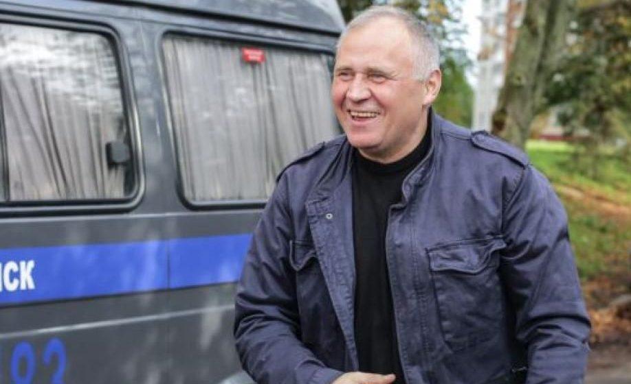 Вышел на свободу после 15-суточного ареста Николай Статкевич