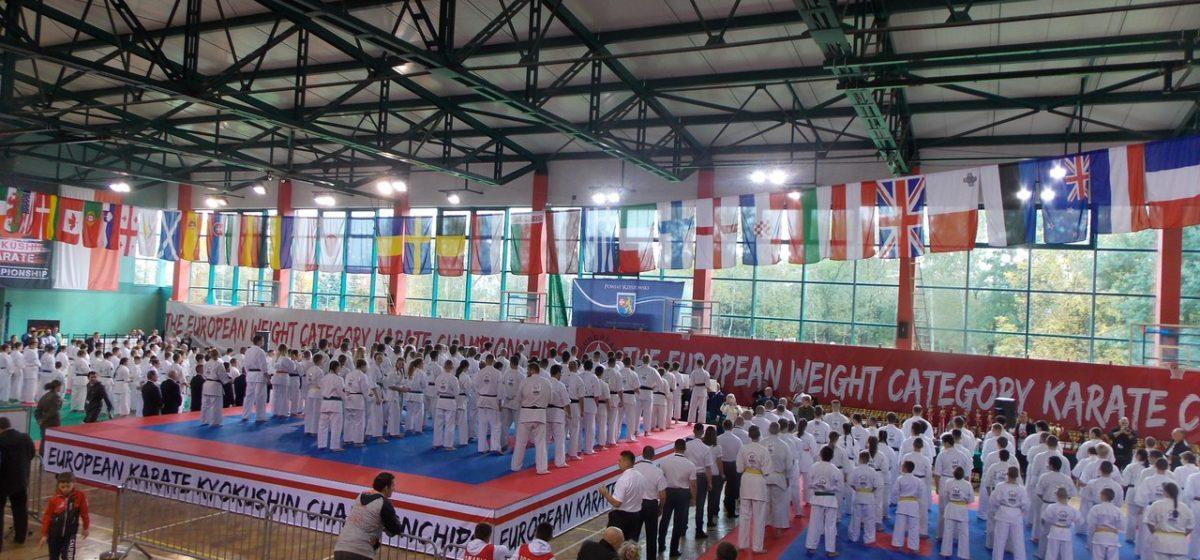 Юные каратисты Барановичей завоевали пять медалей чемпионата Европы