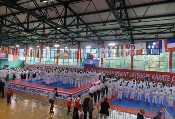 14–15 октября, Жешув, Польша. Чемпионат Европы среди юниоров по Киокушинкай каратэ. Все фото: МСО «Киокушинкай каратэ»