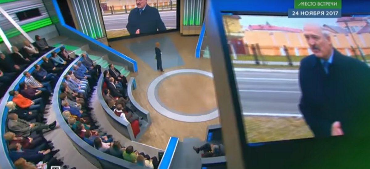 На НТВ прошлись по Лукашенко и освистали Дмитриева (видео)