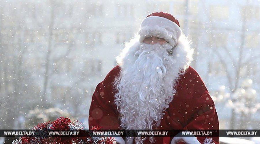 Российские туристы назвали белорусского Деда Мороза самым популярным среди стран СНГ