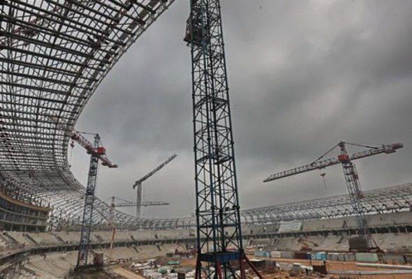Для минского стадиона «Динамо» 20 флагштоков покупают за 550 тысяч долларов