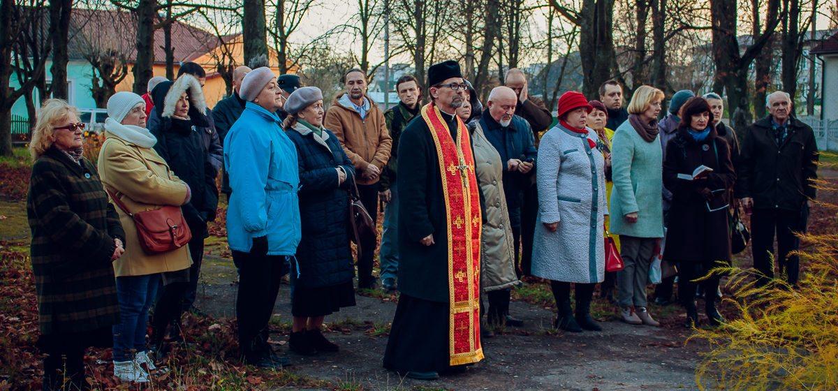 Баранавіцкая арганізацыя ТБМ ушанавала памяць загінуўшых падчас палітычных рэпрэсій