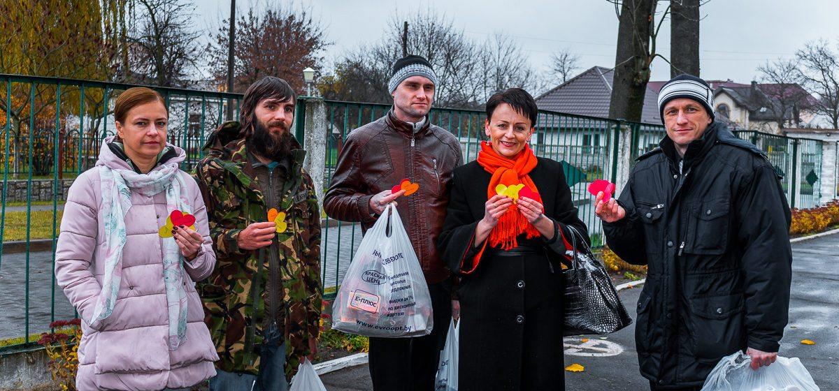 В Барановичах прошла благотворительная акция «Открытые сердца»