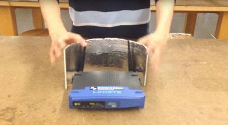 Ученые подтвердили: лайфхак — алюминиевая фольга действительно помогает улучшить Wi-Fi-сигнал