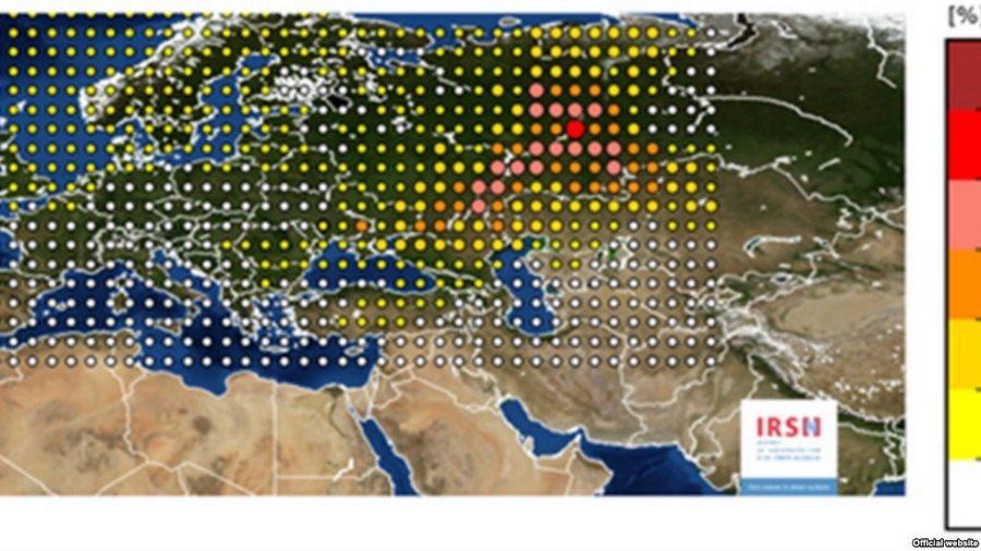 Радиоактивное облако из России, которое накрыло Европу, прошло над Пинском и Браславом
