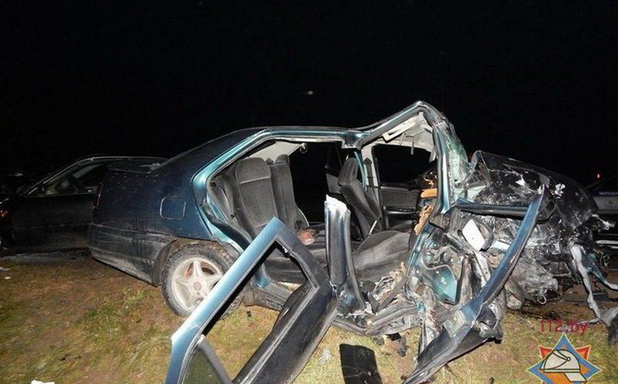 Страшная авария в Щучинском районе: Rover лоб в лоб столкнулся с SEAT, пострадали семь человек