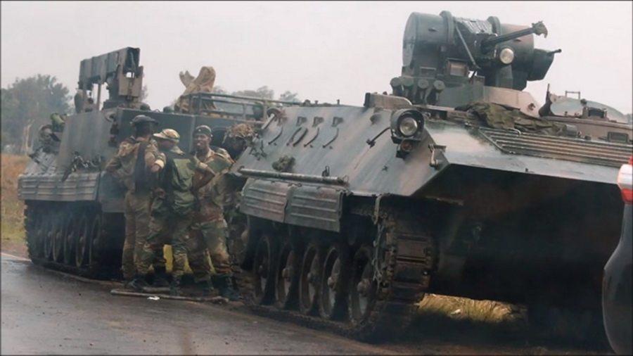 Военный путч в Зимбабве: стрельба в столице, захват телевидения, задержан министр финансов