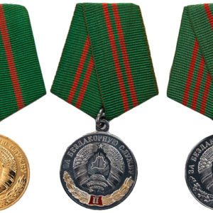 Барановичских следователей наградили медалями «За безупречную службу»