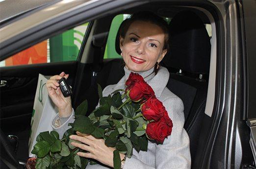 Учитель из Барановичей выиграла Nissan Qashqai