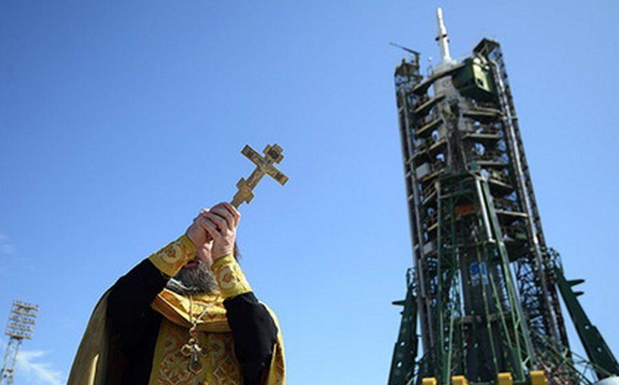 В неудачном запуске российской ракеты «Союза-2.1б» обвинили священника