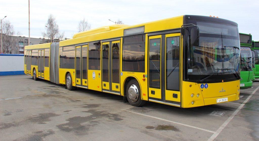 В Барановичах меняется расписание городских автобусов №1 и №21