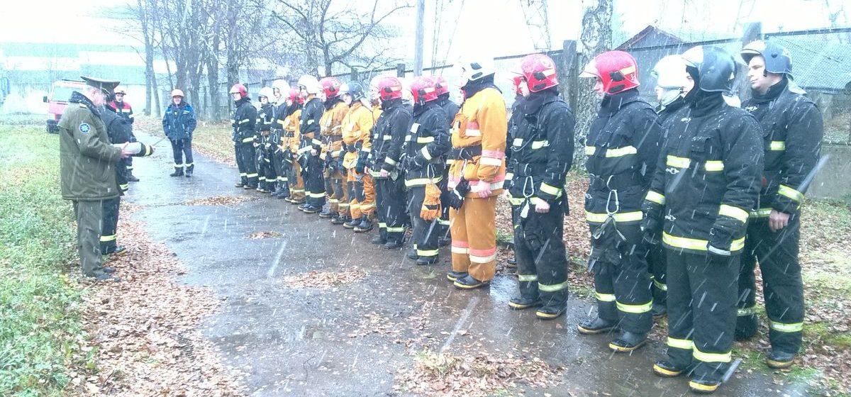 Загорелась трансформаторная подстанция, ранен ее работник – барановичские спасатели провели учения