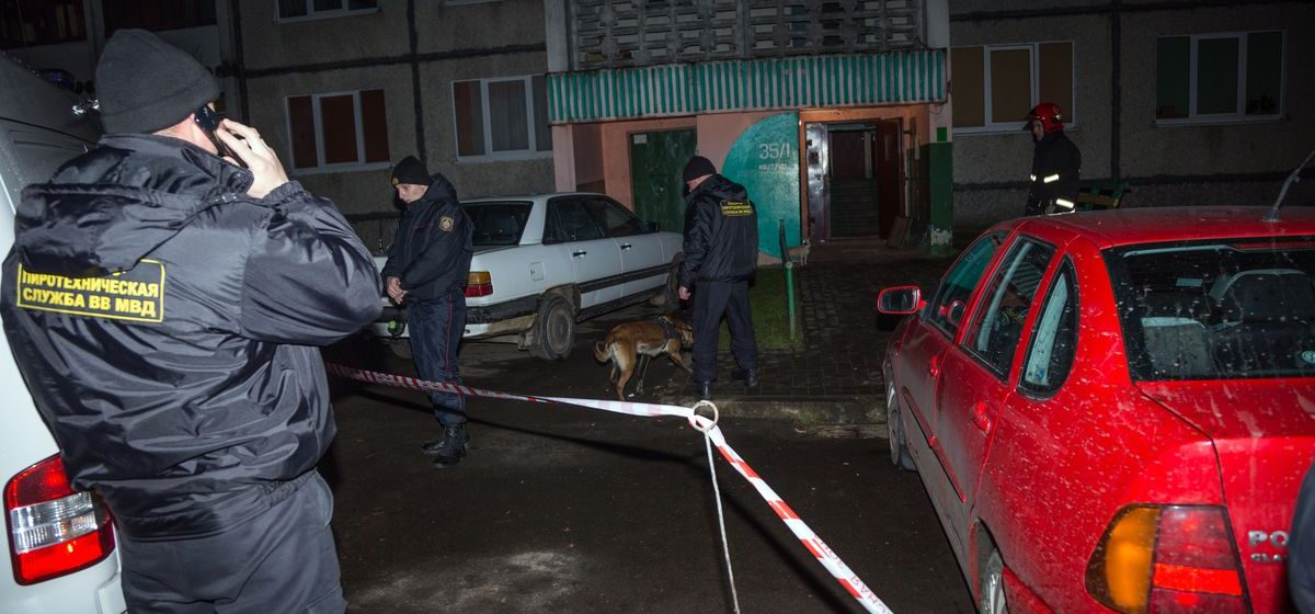 В Барановичах милиция приехала на семейную ссору – пришлось эвакуировать всех жильцов девятиэтажки