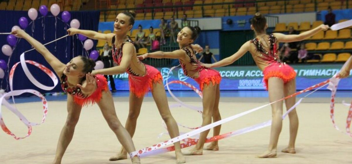 Юные барановичские гимнастки на Кубке республики завоевали три медали